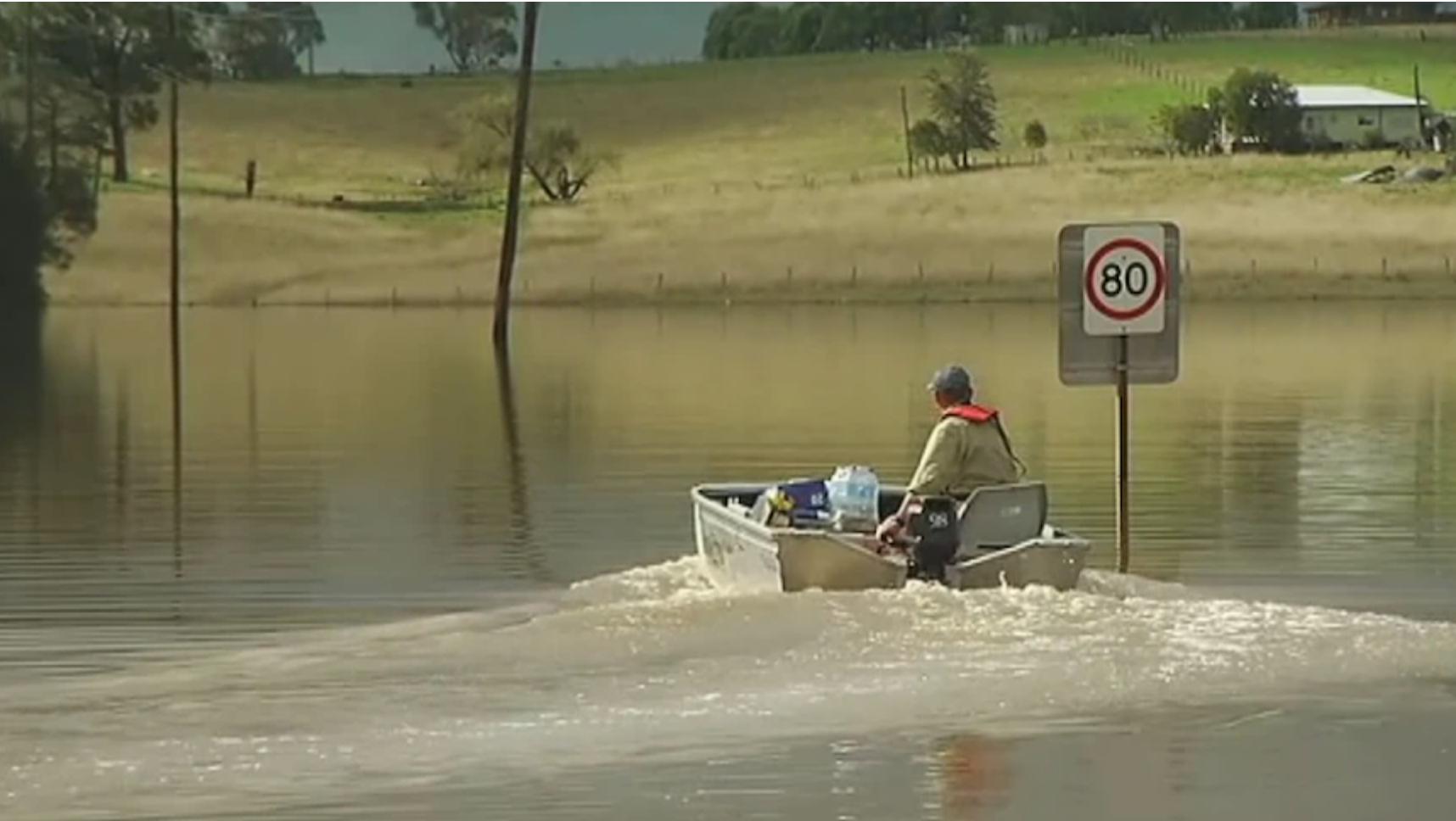 Flooding NSW Farms
